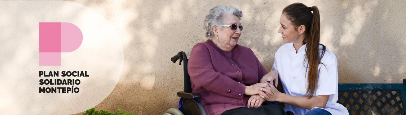 Plan Social y Solidario del Montepío: línea de ayudas al acceso a plazas geriátricas
