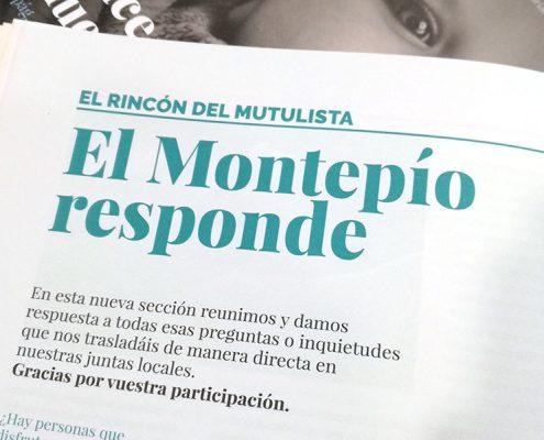 El Montepío responde: sección de la revista del Montepío