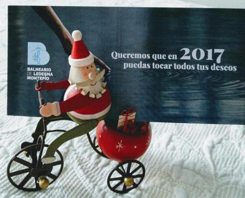 """Ganadores de las estancias termales """"Felicitación 2017"""""""
