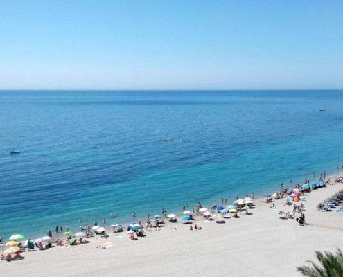 Sol en Semana Santa, costa de Almería