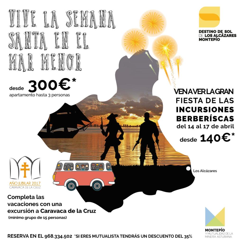 Espectacular oferta de Semana Santa en Los Alcázares