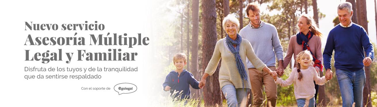 Nuevo servicio: Asesoría Múltiple Legal y Familiar