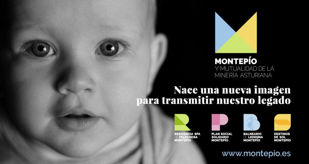 Nueva imagen corporativa del grupo Montepío