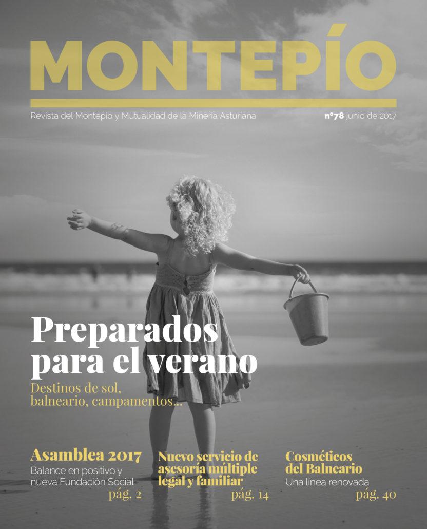 Portada de la revista Montepío nº 78