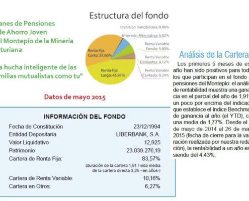 Estructura del fondo (Cambios de fiscalidad del IRPF en España 2015)