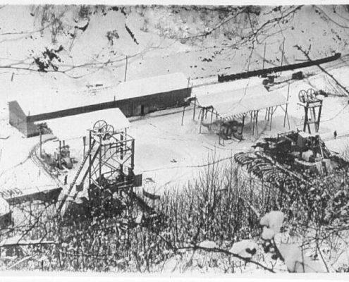 Historias de la mina: Polio, el pozo de los castilletes gemelos
